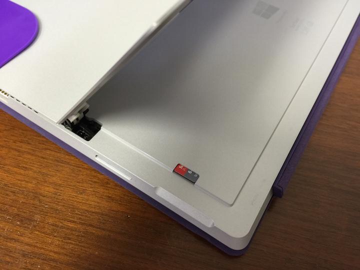 surface pro 3 sd card slot