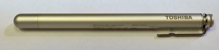 Toshiba TruPen stylus with cap