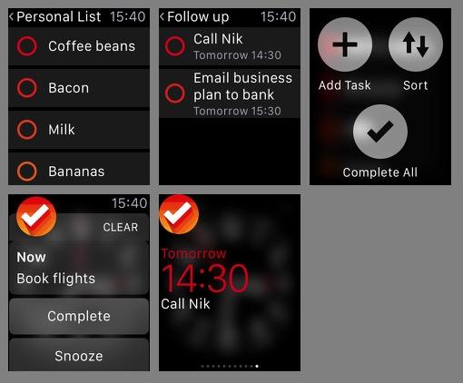 Clear Apple Watch App