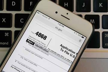 File Tax Extension 2015 - IRS Form 4868 - 2