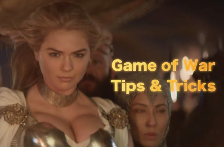 The essential Game of War tips and tricks, plus Game of War strategy tips.