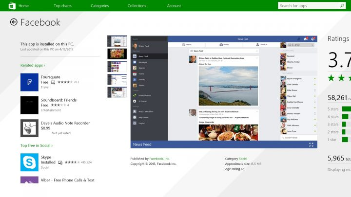 How to use Facebook on Windows 8.1 (3)