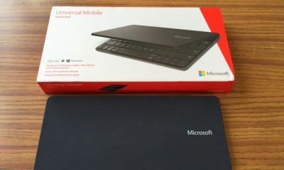 microsoft universal mobile keyboard with box