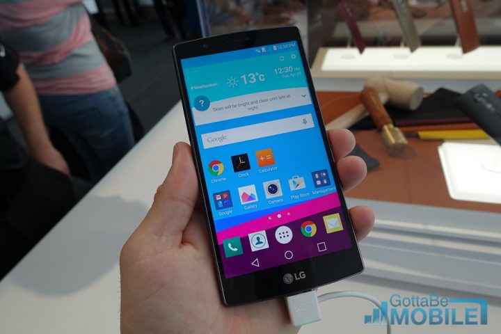The LG G4 software delivers a cleaner experience with Android 5.1 underneath.