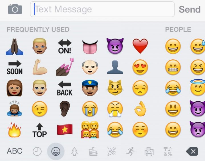 New Emojis iPhone iOS 8.3 - 1
