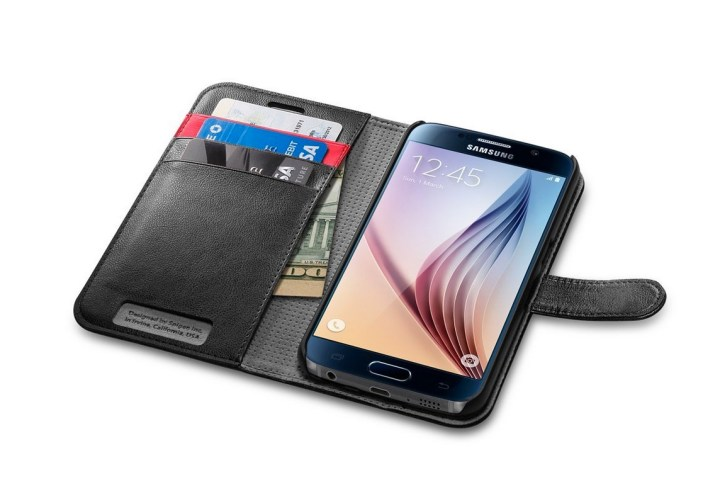 Spigen Galaxy S6 Wallet Case