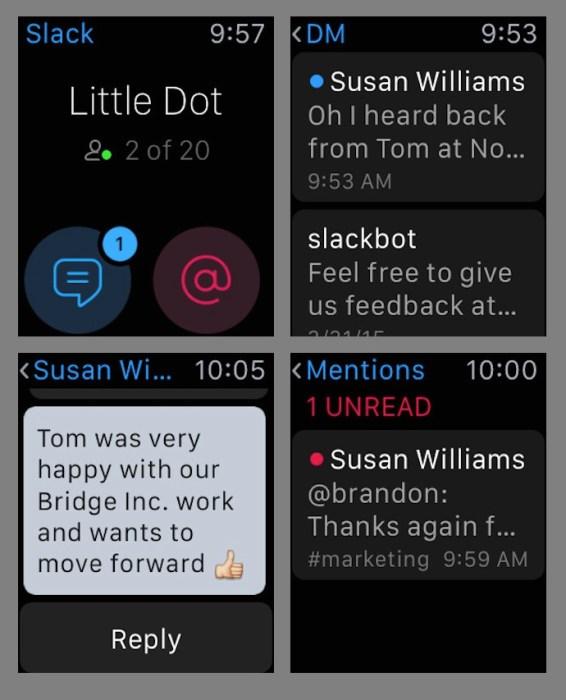 Slack Apple Watch App
