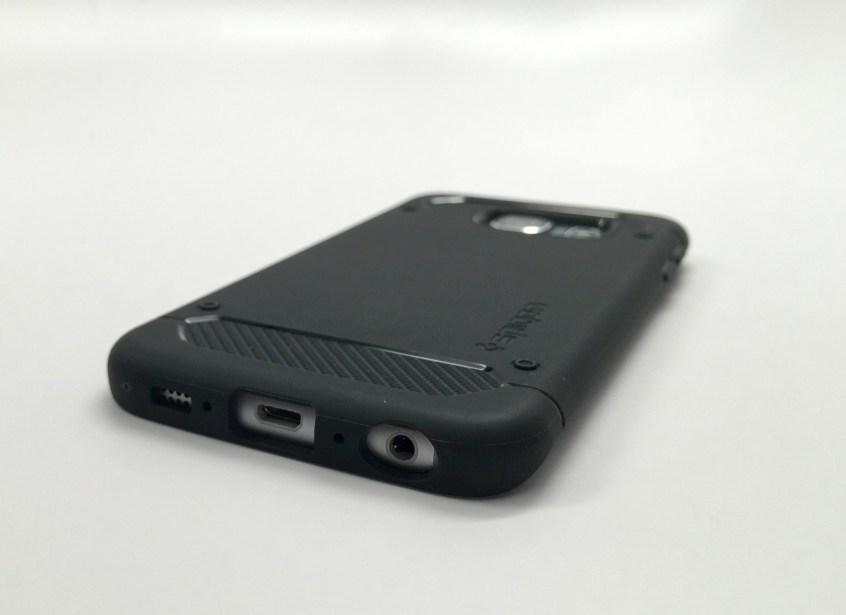 Spigen Capsule Ultra Rugged Galaxy S6 Edge Case Review - 3