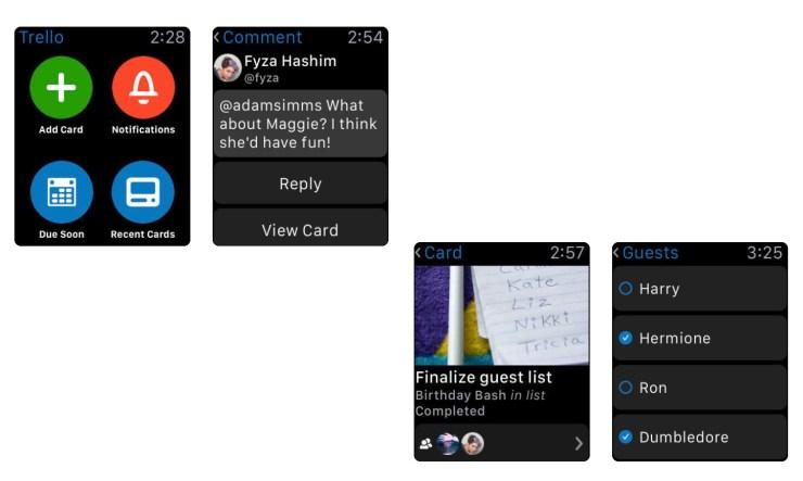 Trello Apple Watch App
