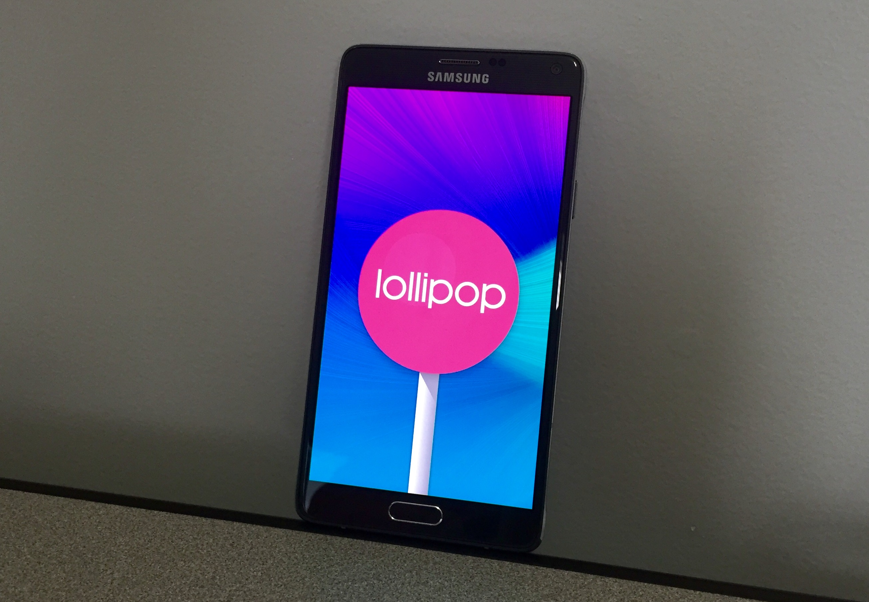 New Galaxy Note 4 & Note Edge Lollipop Release Details