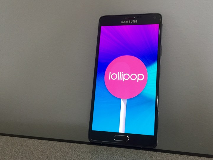 Here's a our full Verizon Galaxy Note 4 Lollipop review.