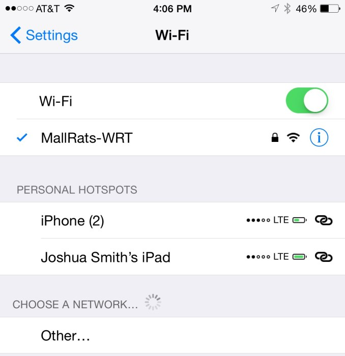 iOS 8.3 Fixes iOS 8.2 WiFi Problems