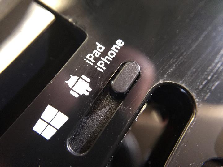 microsoft universal mobile keyboard switch