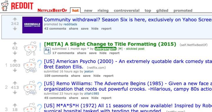 tv series streaming sites reddit