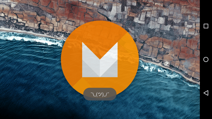 Android M Easter Egg