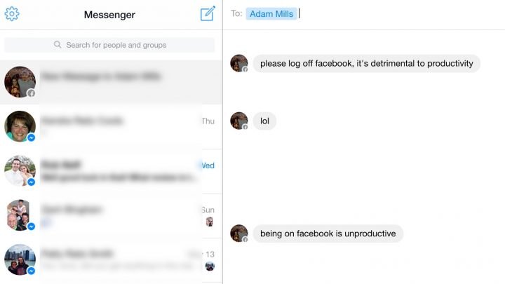 Use the Facebook Messenger for desktop web application to get notifications and sounds when you get a message.