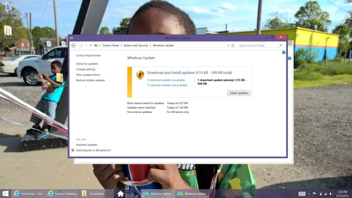 How to Download Windows 8 Updates (8)