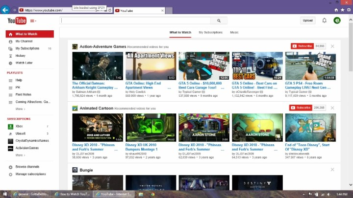How to Watch YouTube Videos on Windows 8 Tablets & More (5)