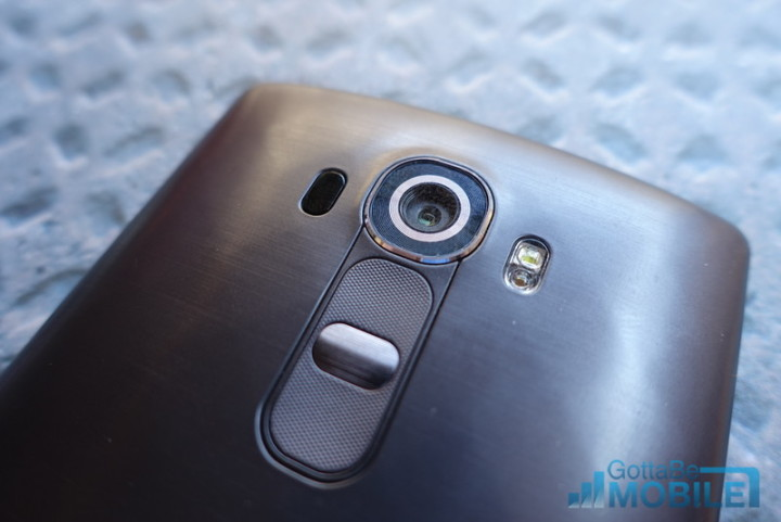 The Rear G5 buttons could have a fingerprint scanner