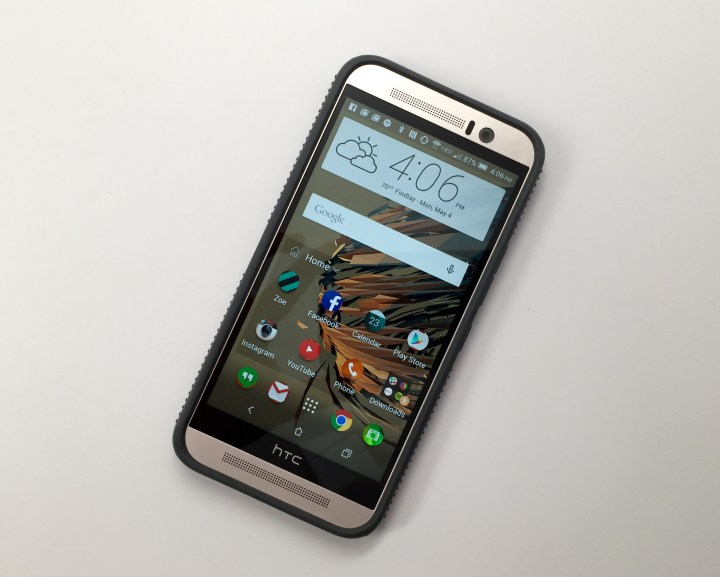 The Speck CandyShell Grip HTC One M9 case is excellent.
