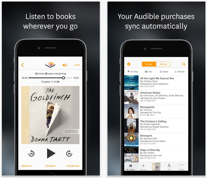 Best iPhone Audiobook Apps