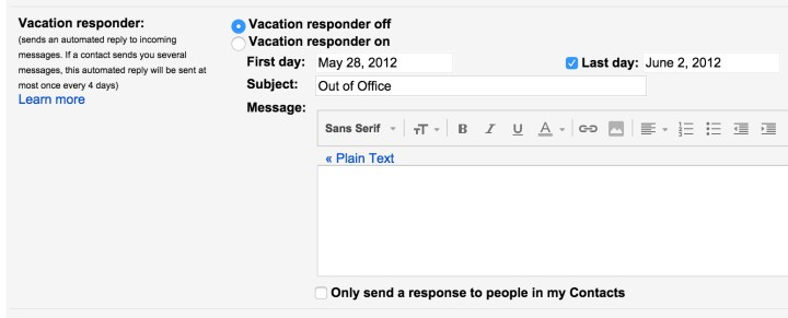 gmail-vacation