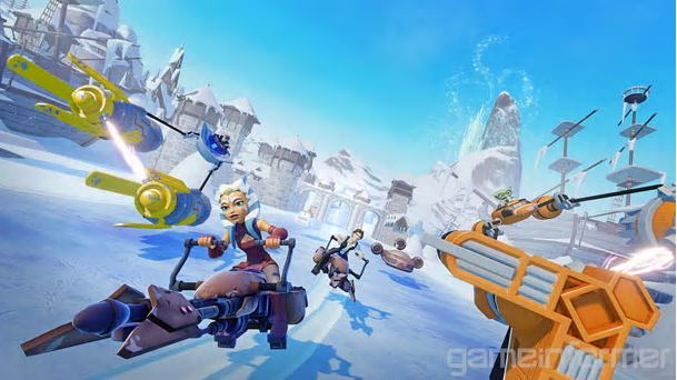Images from Speedway Toy Box shared by GameInformer.