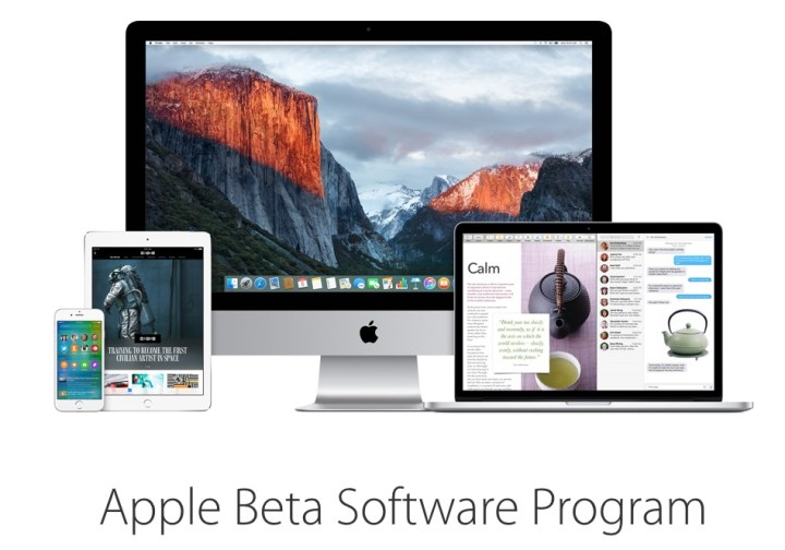 Make sure you are aware what you sign up for with the iOS 9 beta.