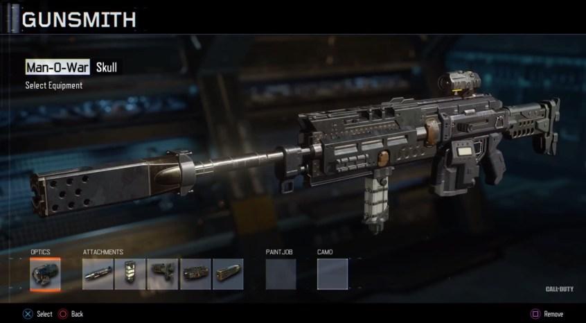 Call of Duty Black Ops 3 Gunsmith - 1
