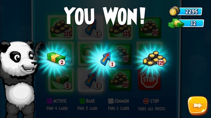 Win free in game powerups and cash.