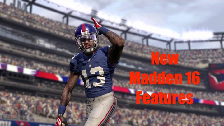 Here are the most exciting new Madden 16 Features
