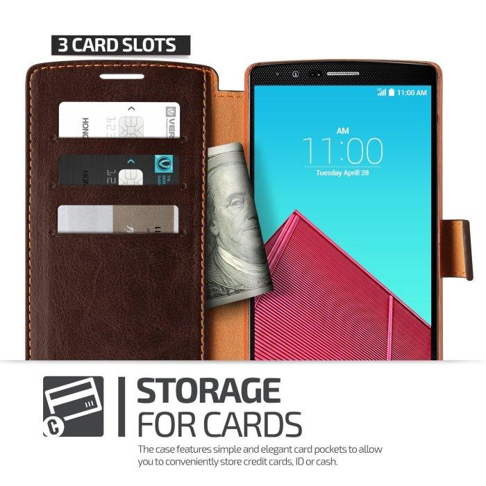 Verus Leather Wallet Case