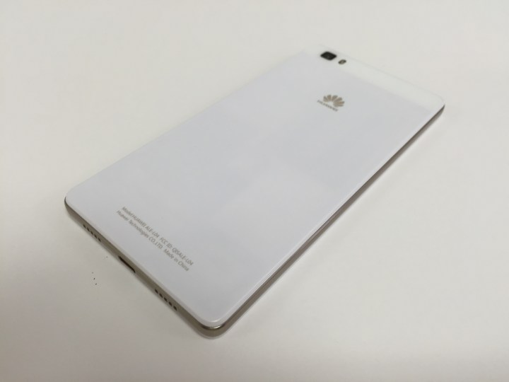 Huawei P8 Lite back