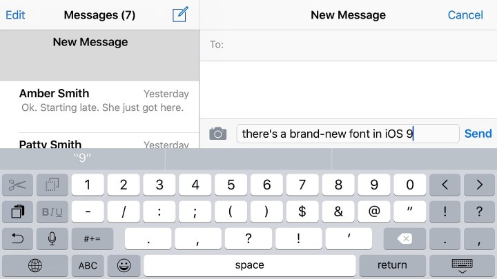 New Font for a Fresh iOS 9