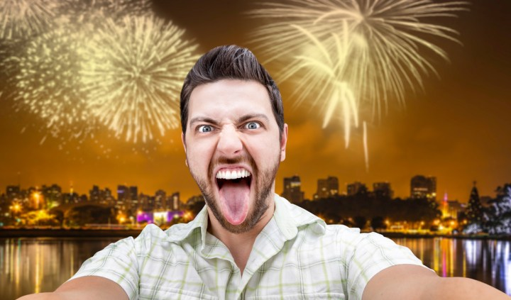 Avoid taking fireworks selfies with the iPhone.