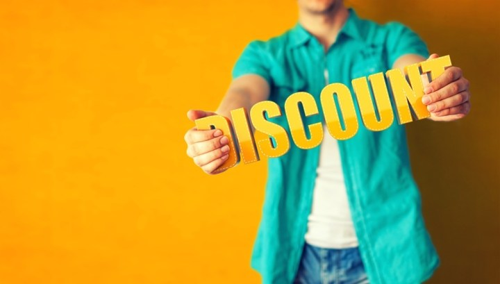 Don't miss out on any discounts that are available.