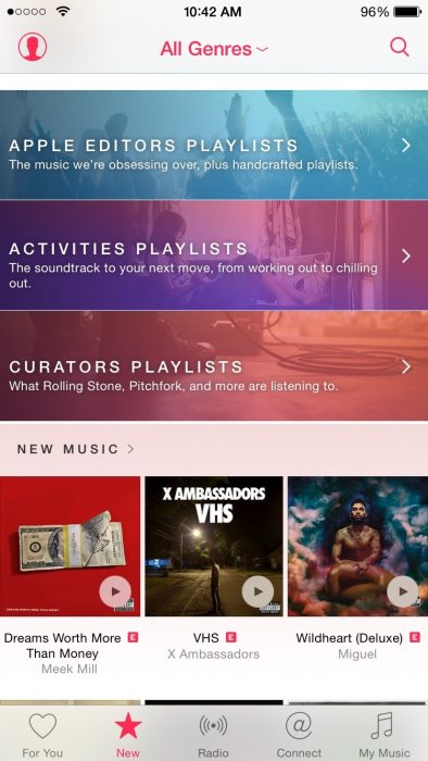 Apple Editors Playlists Are With Music That Obsessing Over Selecting Option Will Provide You Different Genres