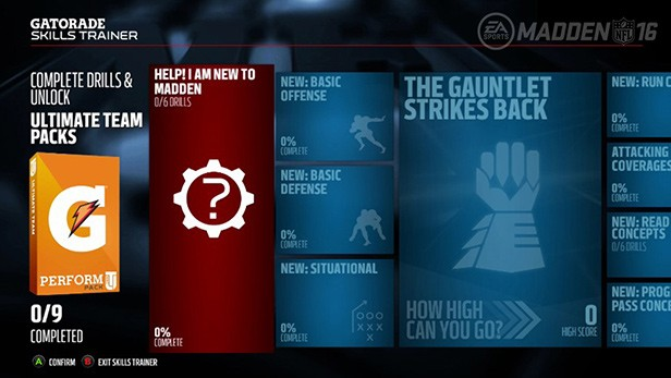 A new mode delivers tips specifically for new Madden players.