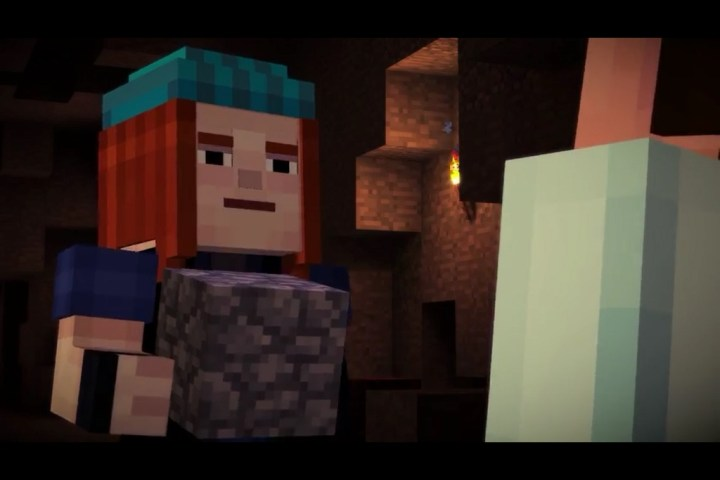 Minecraft Story Mode isn't  Made by Mojang