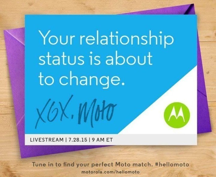 Moto-announcement