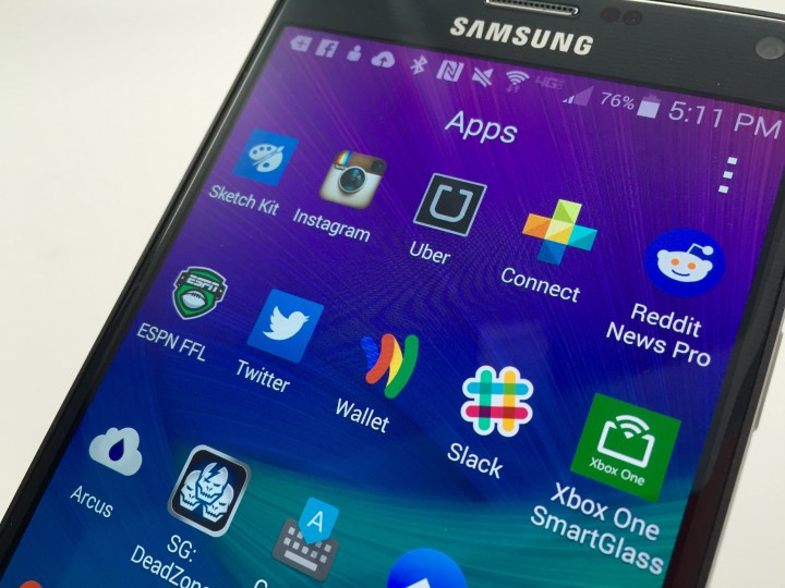 Samsung Galaxy Note 5 Storage