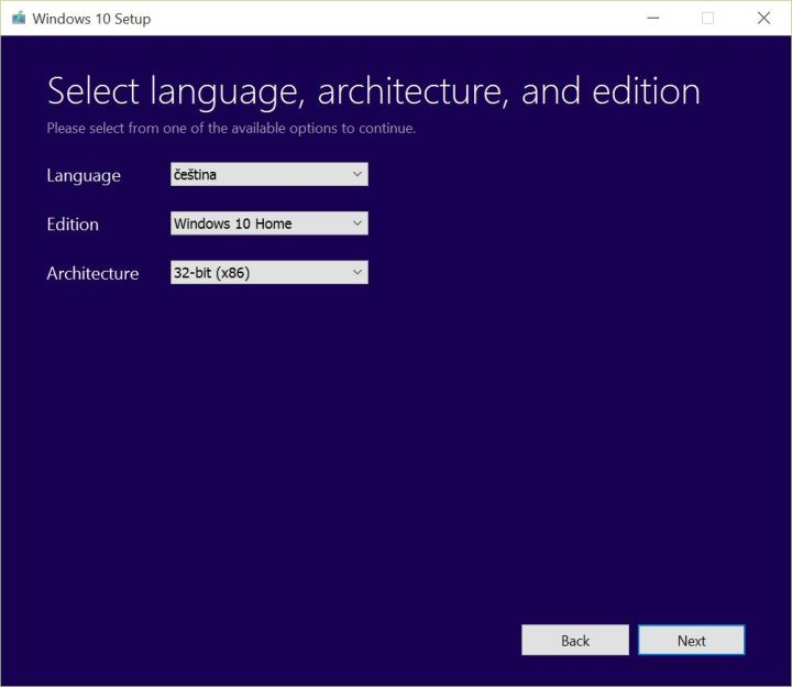 Windows 10 Installation Tool