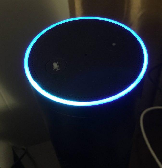amazon echo blue ring