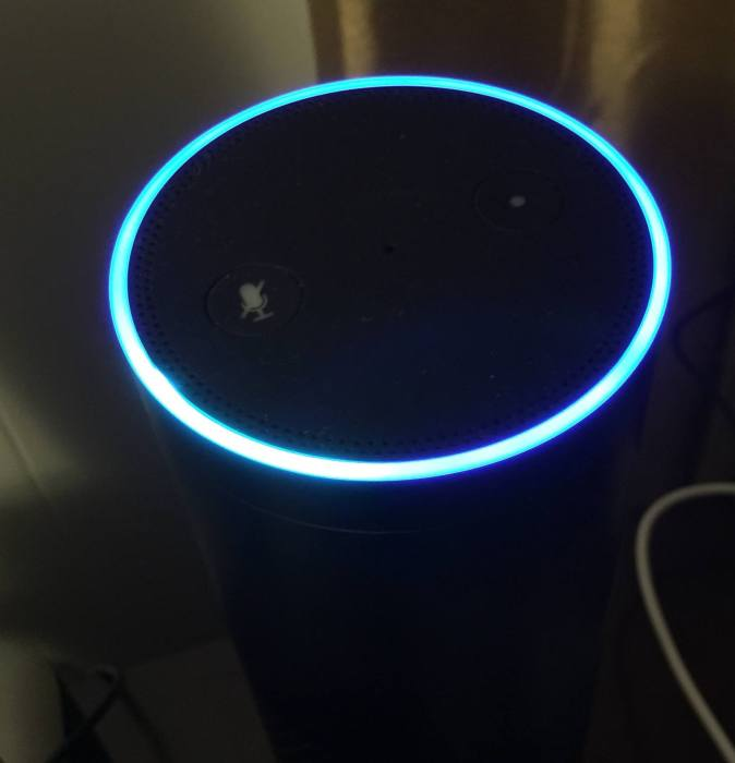 amazon echo blue ring