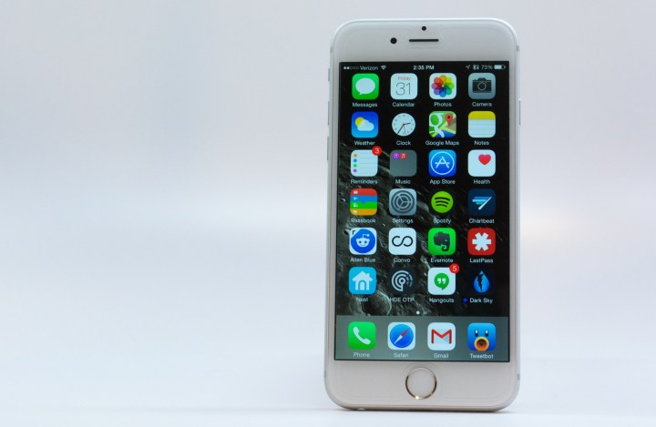 A new iPhone 6s display with Force Touch could add input options.