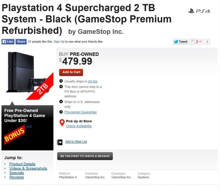 ps4 supercharged bundle