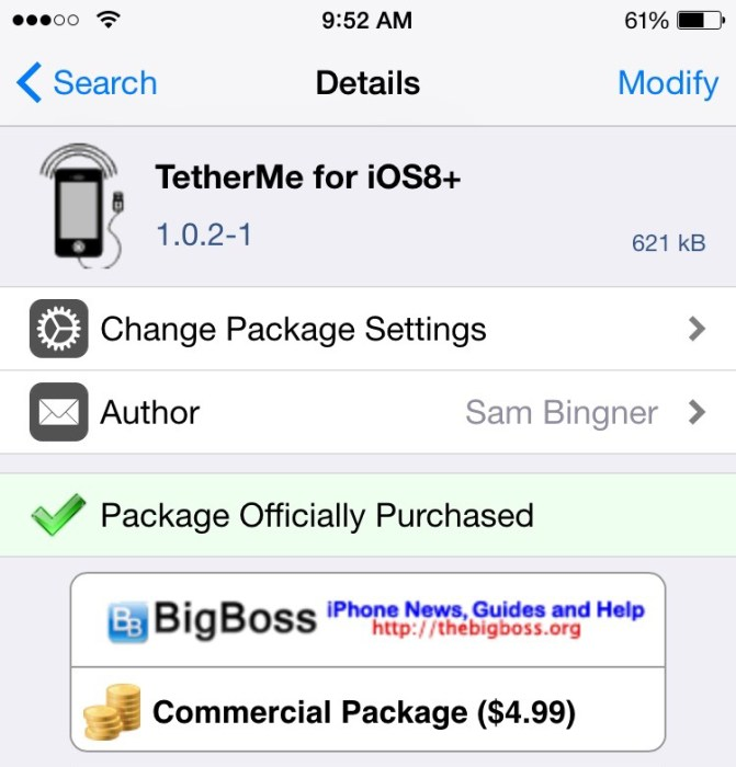 How to Use TetherMe on Your iPhone