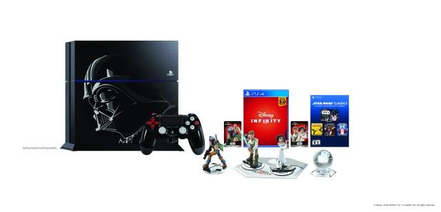 The Disney Infinity 3.0 PS4 Darth Vader Bundle.