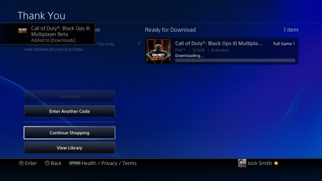 Two downloads will start; including the beta and a patch for the beta.