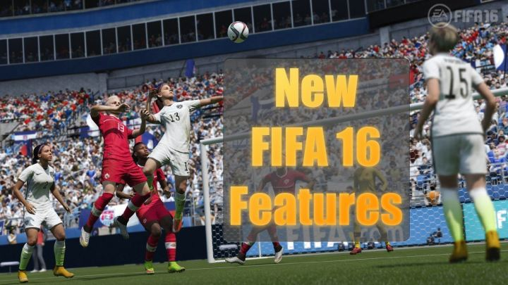 New FIFA 16 Features